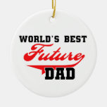 World's Best Future Dad Gifts Ornament