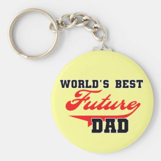 World's Best Future Dad T shirts and Gifts Keychain