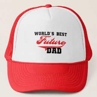 World's Best Future Dad T shirts and Gifts Trucker Hat