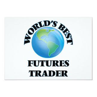 World's Best Futures Trader Customized Announcement Cards
