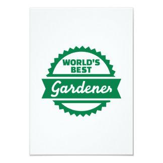World's best Gardener Invite
