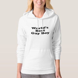 World's Best Gay Boy Hooded Pullover