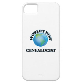 World's Best Genealogist iPhone 5/5S Cover