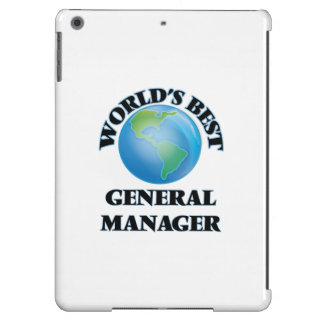 World's Best General Manager iPad Air Covers