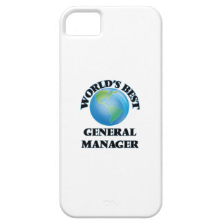 World's Best General Manager Cover For iPhone 5/5S