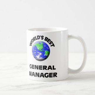 World's Best General Manager Classic White Coffee Mug