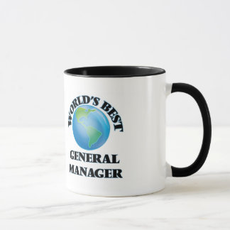 World's Best General Manager Mug