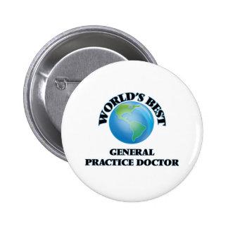 World's Best General Practice Doctor Button