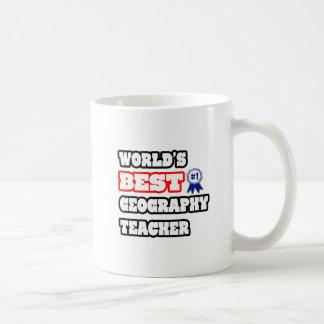 World's Best Geography Teacher Coffee Mug