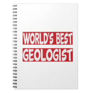 World's Best Geologist. Note Books