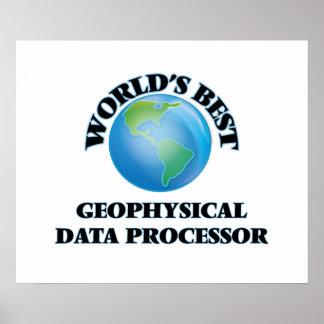 World's Best Geophysical Data Processor Poster