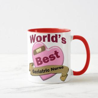 World's Best Geriatric Nurse Mug