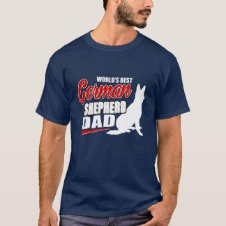 World's Best German Shepherd Dad T-Shirt