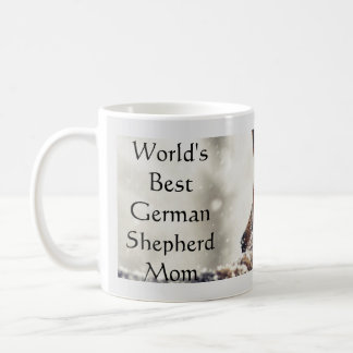 World's Best German Shepherd Mom Coffee Mug
