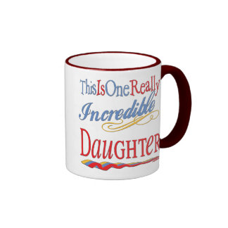 World's Best Gifts For Daughters Mug
