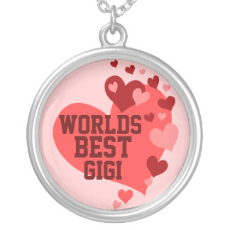 World's Best Gigi (or any name) Personalized Necklace