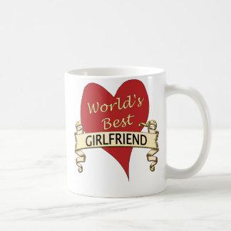 World's Best Girlfriend Classic White Coffee Mug