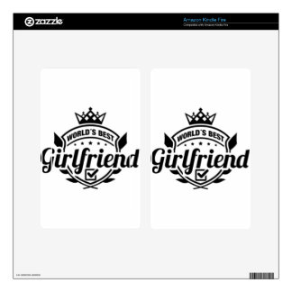 WORLDS BEST GIRLFRIEND SKINS FOR KINDLE FIRE