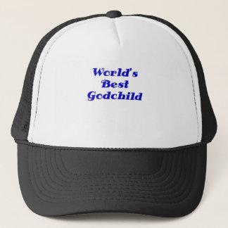 Worlds Best Godchild Trucker Hat
