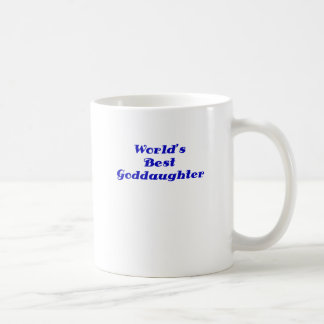 Worlds Best Goddaughter Coffee Mug