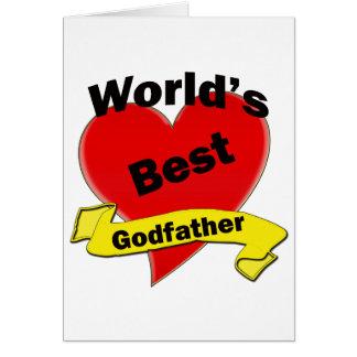 World's Best Godfather Card