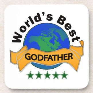 World's Best Godfather Coaster