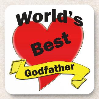 World's Best Godfather Coasters