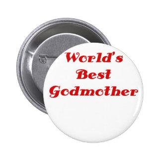 Worlds Best Godmother Button