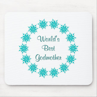 World's Best Godmother Mouse Pad