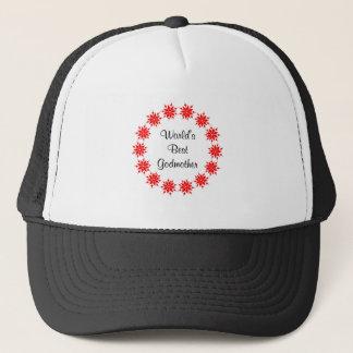 World's Best Godmother (red) Trucker Hat