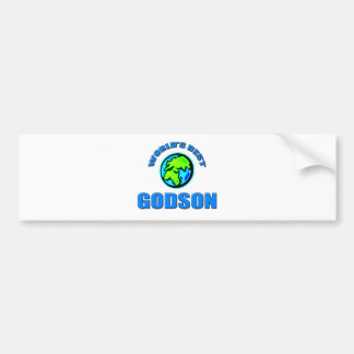World's Best Godson Bumper Sticker