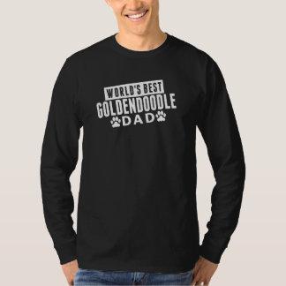 World's Best Goldendoodle Dad T-Shirt