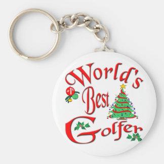 World's Best Golfer Keychain