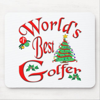 World's Best Golfer Mouse Pad
