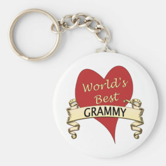 World's Best Grammy Keychain