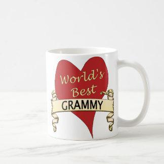 World's Best Grammy Classic White Coffee Mug