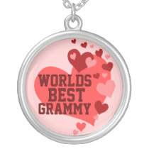 World's Best Grammy (or any name) Silver Plated Necklace
