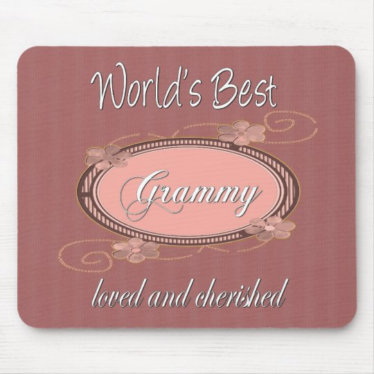 World's Best Grammy Series Mouse Pad