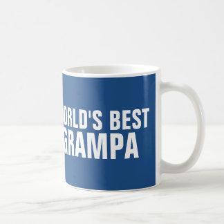World's Best Grampa Coffee mugs