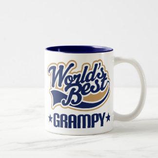 Worlds Best Grampy Two-Tone Coffee Mug