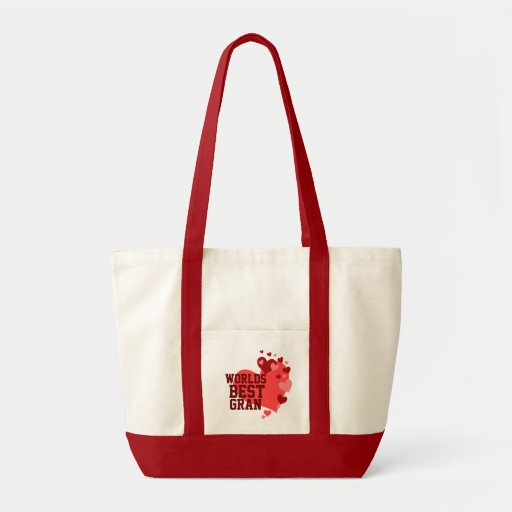 Worlds Best Gran Personalized Tote Bag