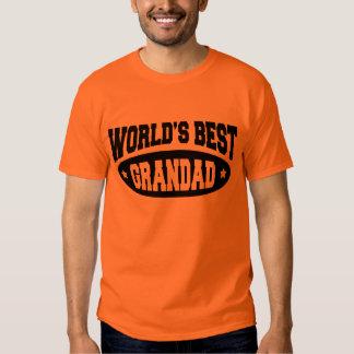 World's Best GranDad T-Shirt - White or Light