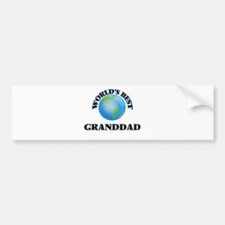 World's Best Granddad Bumper Stickers