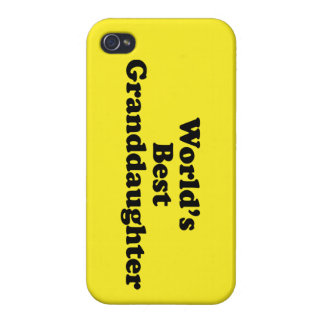 World's Best Granddaughter iPhone 4/4S Cover