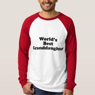 World's Best Granddaughter T Shirt