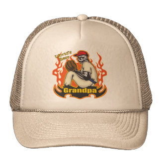 World's Best Grandfather Father's Day Gift Trucker Hat