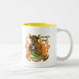 World's Best Grandfather Father's Day Gift Two-Tone Coffee Mug