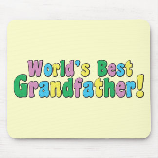 World's Best Grandfather Mouse Pad