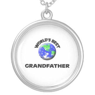World's Best Grandfather Custom Jewelry