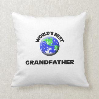World's Best Grandfather Throw Pillow
